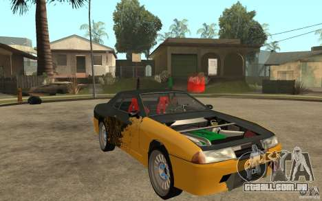Monster Elegy para GTA San Andreas vista traseira