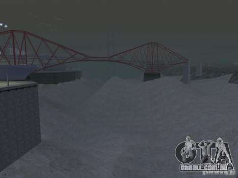 Seca para GTA San Andreas segunda tela