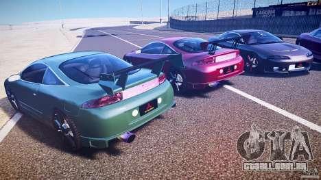 Mitsubishi Eclipse Tuning 1999 para GTA 4 vista lateral