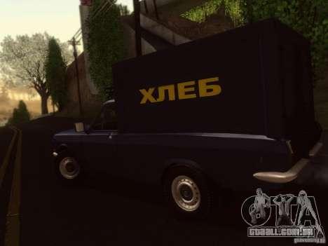 GAZ-24-12 pão van para GTA San Andreas esquerda vista