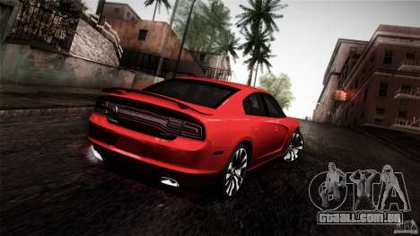 Dodge Charger SRT8 2012 para GTA San Andreas esquerda vista