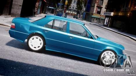 Mercedes-Benz W124 E500 1995 para GTA 4 esquerda vista