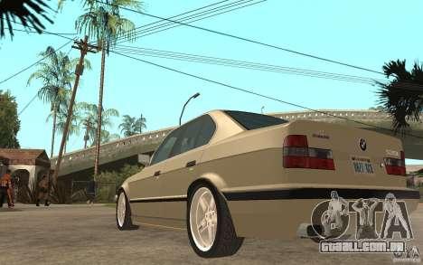BMW 535i e34 AC Schnitzer para GTA San Andreas