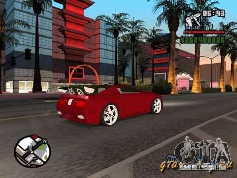 Ford Mustang GT 2005 Concept JVT LORD TUNING para GTA San Andreas