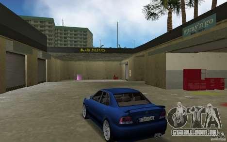 Mitsubishi Galant para GTA Vice City vista traseira esquerda