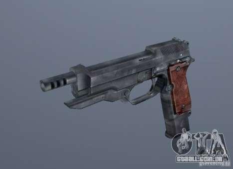 Grims weapon pack2 para GTA San Andreas por diante tela
