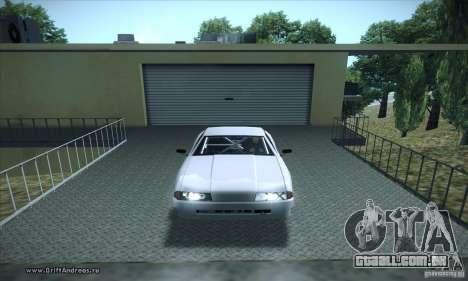 ENBSeries v5.0 Baby Blue para GTA San Andreas segunda tela