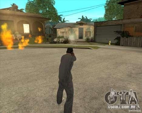 Gta IV weapon anims para GTA San Andreas por diante tela