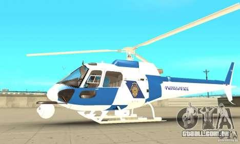AS-350 Police para GTA San Andreas