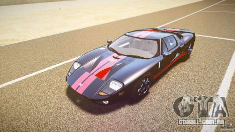 Ford GT1000 2006 Hennessey [EPM] STREET BURNING para GTA 4