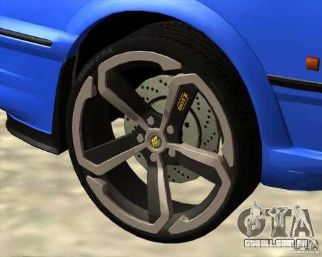 Z-s wheel pack para GTA San Andreas por diante tela