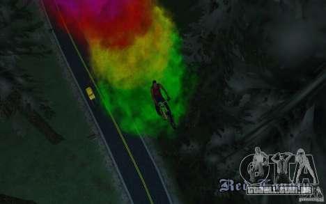 Bike Smoke para GTA San Andreas