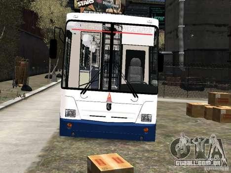 Nefaz-5299 10-15 para GTA 4 vista lateral