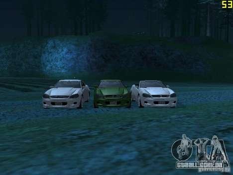 GTA IV Feltzer para GTA San Andreas esquerda vista