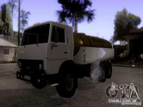Tanque de leite 53212 KAMAZ para GTA San Andreas