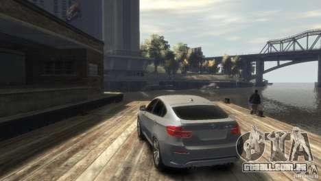 BMW X6M para GTA 4 vista direita