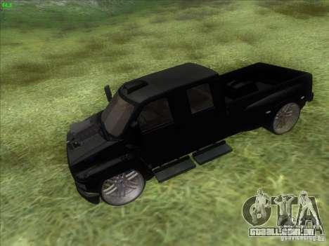 GMC C4500 Pickup DUB Style para GTA San Andreas vista direita