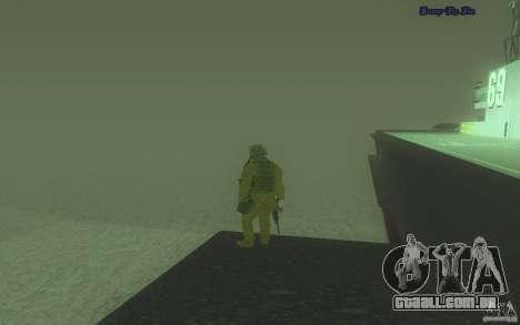 Água HD v 2.0 para GTA San Andreas terceira tela