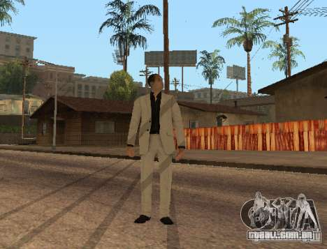 Red Dragon Clan Yakuza para GTA San Andreas terceira tela
