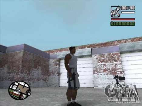 MP5 para GTA San Andreas terceira tela