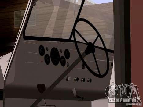 GAZ 51 pão para GTA San Andreas vista direita