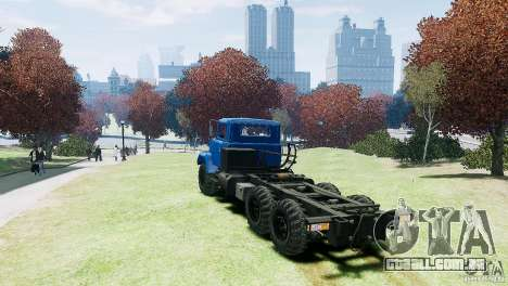 KrAZ-6322 para GTA 4 vista direita