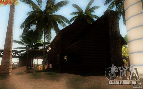 New Country Villa para GTA San Andreas quinto tela
