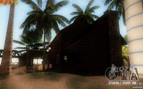 New Country Villa para GTA San Andreas quinto tela
