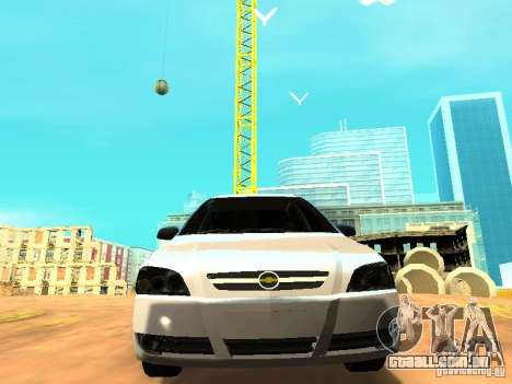 Chevrolet Astra Hatch 2010 para GTA San Andreas vista traseira