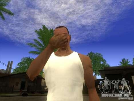 Facepalm Mod para GTA San Andreas