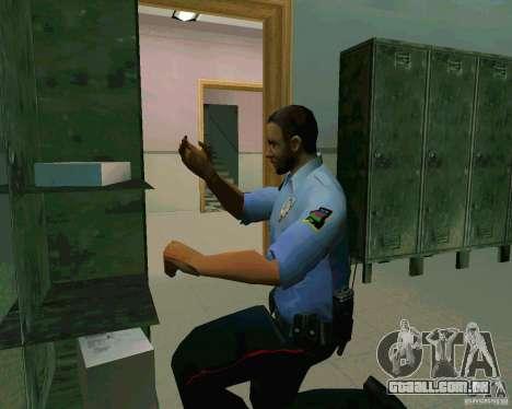 Azeri Polis para GTA San Andreas quinto tela