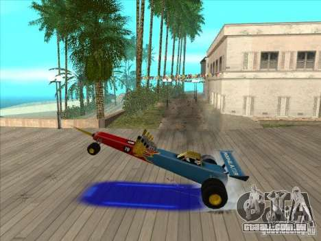 Dragg car para vista lateral GTA San Andreas