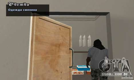 Assassinov capotas para GTA San Andreas segunda tela