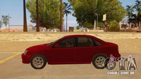 Buick Excelle para GTA San Andreas esquerda vista