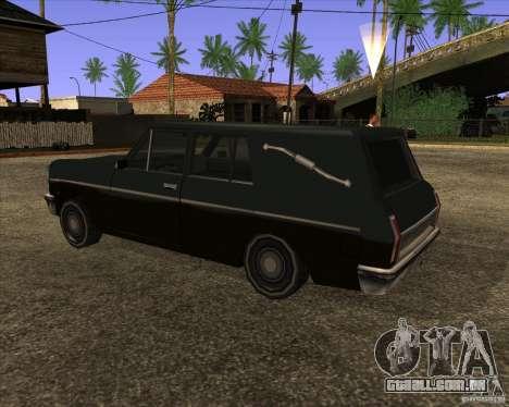 Coffin San Andreas Stories para GTA San Andreas esquerda vista