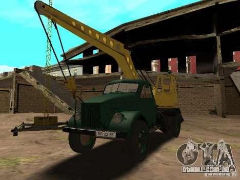 Guindaste móvel de GAZ-51 para GTA San Andreas