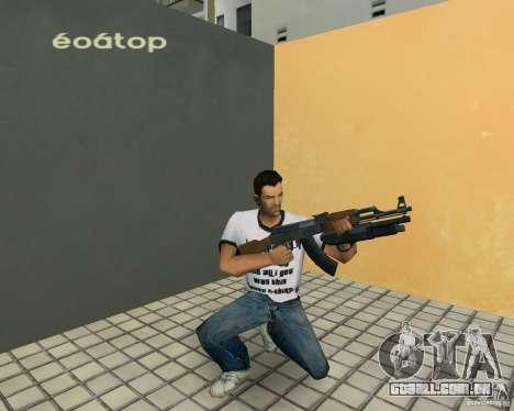 AK-47 com espingarda Underbarrel para GTA Vice City