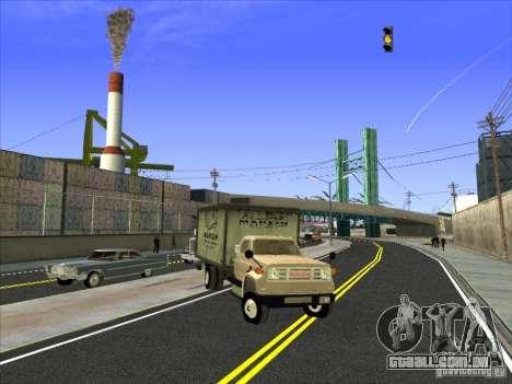 Yankee baseado no GMC para GTA San Andreas esquerda vista