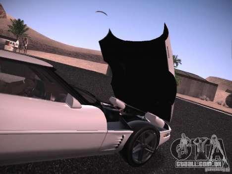 Chevrolet Corvette Grand Sport para vista lateral GTA San Andreas