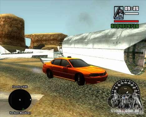 Novo velocímetro BMW para GTA San Andreas segunda tela