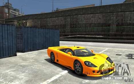 Saleen S7 para GTA 4 vista de volta