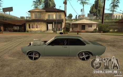 Chevrolet Cheville para GTA San Andreas esquerda vista