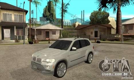 BMW X5 E70 Tuned para GTA San Andreas