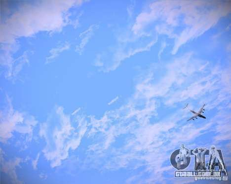 Real Clouds HD para GTA San Andreas terceira tela