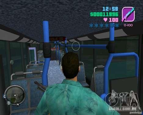 Marcopolo Bus para GTA Vice City vista superior