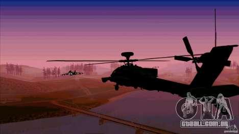 Armadilhas de calor para caçador para GTA San Andreas quinto tela