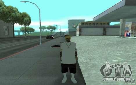 Novas skins de Los Santos Vagos para GTA San Andreas quinto tela