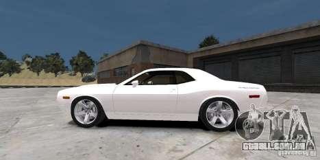 Dodge Challenger 2006 para GTA 4 traseira esquerda vista