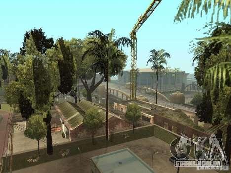 Serviço de carro aproximadamente Groove v 1.5 para GTA San Andreas por diante tela