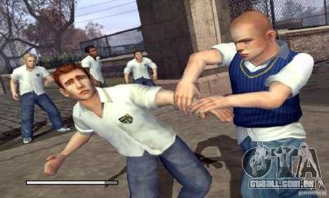 Bota clipart Bully Scholarship Edition para GTA San Andreas segunda tela